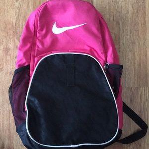 Pink Nike Basketball Bag